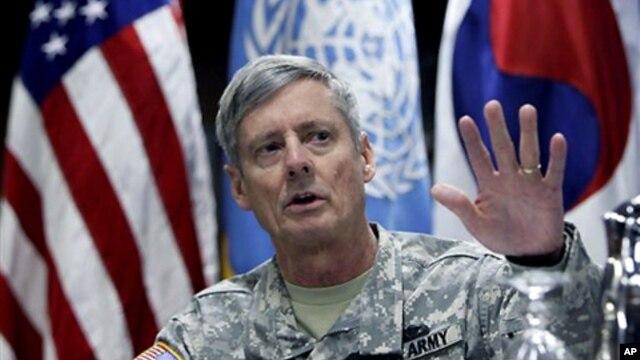 월터 샤프 전 주한미군사령관. (자료사진)