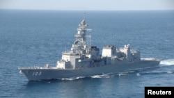 일본 해상자위대 구축함. (자료사진)