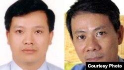 Bác sĩ Phạm Hồng Sơn và Luật sư nhân quyền Nguyễn Văn Đài.