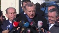 """Erdoğan: """"Türk Askerinin Tamamen Çekilmesi Söz Konusu Olamaz"""""""