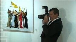 Антонио Бандерас открыл в Москве персональную фотовыставку