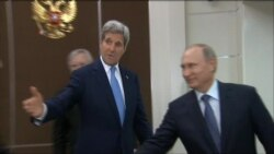 Kerry Meets Putin in Russia