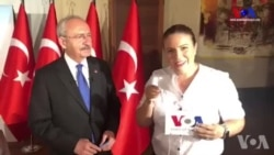 Kemal Kılıçdaroğlu Amerika'nın Sesi'ne Konuştu:'Şaibe Var Eşit Koşullar Yok'