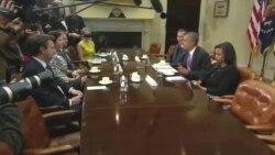 Обама принял журналистов, работавших в «горячих точках»