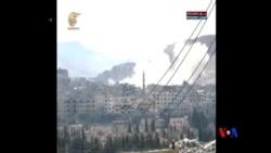 2014-03-16 美國之音視頻新聞: 敘利亞隊奪取反政府武裝控制的主要城鎮