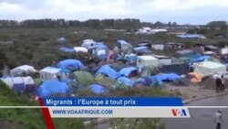 VOA Afrique avec les migrants à Calais