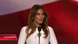 Bà Trump phát biểu tại đại hội đảng
