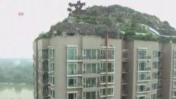 北京城管限令海淀楼顶别墅15天内拆除