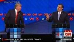 美國共和黨總統參選人舉行辯論會