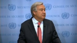 UN Chief Guterres Denounces Racism
