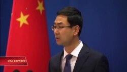 Trung Quốc phản đối Mỹ tuần tra Biển Đông