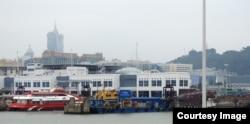 최근 암살된 김정은 북한 국무위원장의 이복형 김정남이 자주 목격된 마카오 외항. (사진=박종철 교수.)