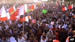 巴林仍有大批民眾示威。