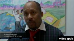 Ronald Moten, Aktivis Masyarakat Washington, D.C.(Photo: Screen grab).