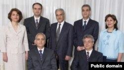 رهبران جامعه بهایی ایران که به اتهام جاسوسی هر یک به ۲۰ سال زندان محکوم شدهاند.