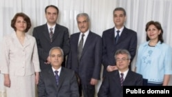 "Seven Iranian Bahai leaders sentenced to 20-year jail term on charges of ""espionage for Israel."" (File)"