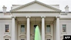 Белый дом «зеленеет»