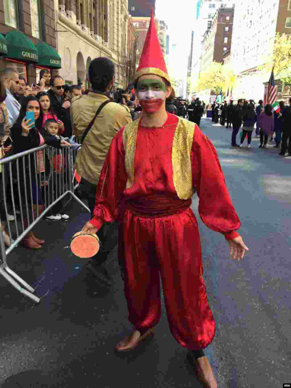 رژه نوروزی ایرانیها در نیویورک