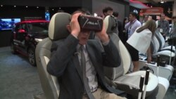 VOA Checks Out Self-driving Cars at CES, Las Vegas