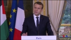 """Macron affirme que """"les Américains sont marginalisés"""" sur Jérusalem (vidéo)"""