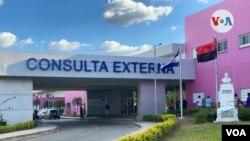 Fachada de un hospital público de Nicaragua. [Foto: Houston Castillo, VOA].