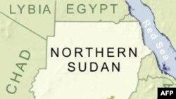 苏丹地理位置图(资料照片)