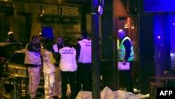 巴黎发生数起恐怖袭击事件