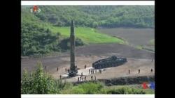 2017-07-04 美國之音視頻新聞: 北韓週二早上再次試射中程導彈 (粵語)