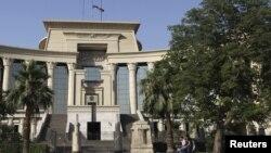 Здание Верховного суда Египта в Каире (архивное фото)