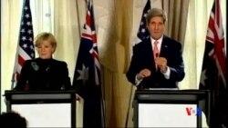 2014-08-12 美國之音視頻新聞: 克里敦促阿巴迪盡快組建政府