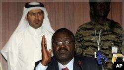 蘇丹達爾富爾反政府力量領導人易卜拉欣(資料圖片)