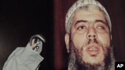 This is an undated photo released in New York by the United States Attorney General, shows Abu Hamza al-Masri, the former imam at London's Finsbury Park mosque, in Great Britain (File Photo)