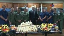 Գոհաբանության օրը Թրամփն այցելեց Ֆլորիդայի սահմանային ուժերին