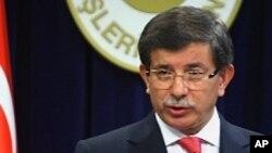 احمد داود گل، وزیر خارجه ترکیه