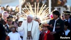 Papa Fransis Boliviyada