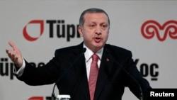 FILE - Turkey's President Tayyip Erdogan.