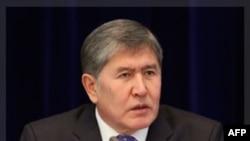 Tổng thống Almazbek Atambayev của Kyrgyzstan