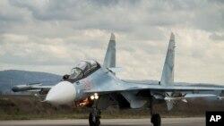 蘇-30戰鬥機 (資料圖片)