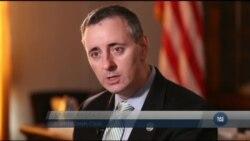Конгресмен-республіканень Браян Фітцпатрік хоче побачити від України більшої ефективності у боротьбі з корупцією. Відео