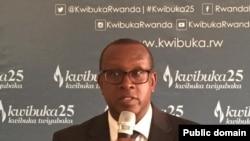 Jean Damascene Bizimana ni umuyobozi wa CNLG, komisiyo y'igihugu ishinzwe kurwanya genoside mu Rwanda