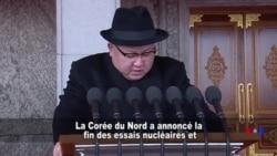 Kim Jong Un annonce la fin des essais nucléaires nord-coréens (vidéo)