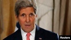 John Kerry sakataren harkokin wajen Amurka.