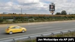 德国东部黑尔姆斯多夫一处高速公路 - 资料照片