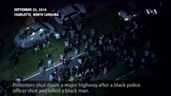 North Carolina Police Shooting Sparks Protest