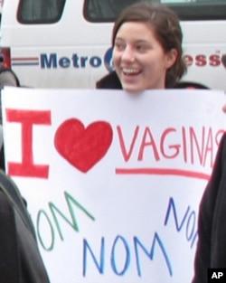 支持同性恋人士在街上声援