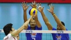 شکست و حذف والیبال ایران