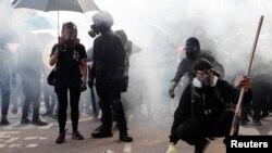 Los manifestantes prodemocracia de Hong Kong ahora están protegidos por una ley de EE.UU.