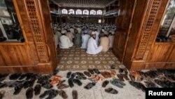 Afg'on-Pokiston chegarasidagi masjidlardan biri