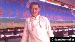 Ông Tsering Dhondup, 35 tuổi, tự thiêu để phản đối Trung Quốc và đã qua đời