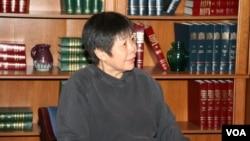 中国独立的学者和评论员戴晴 (美国之音东方)